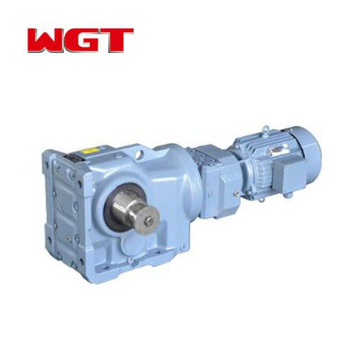 K37 / KA37 / KF37 / KAF37 helical gear quenching reducer (without motor)