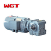 SF37 ... Helical gear worm gear reducer (no motor)