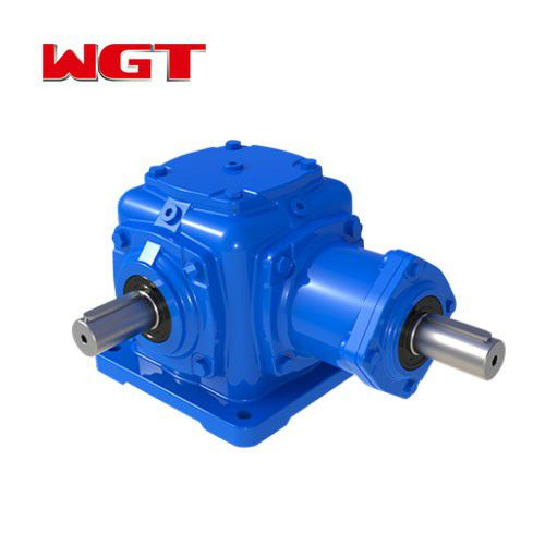 T type spiral bevel gear reduction ratio 3-1 gearbox for game machine T2-T25