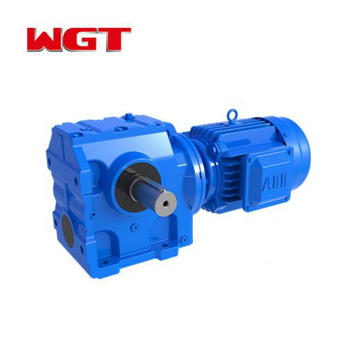 SF77 ... Helical gear worm gear reducer (without motor)