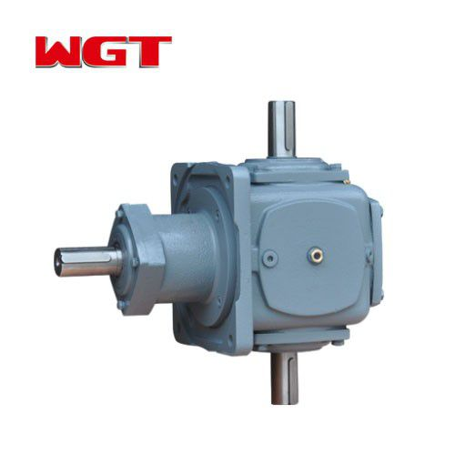 T series high quality agricultural bevel gear reducer T2-25