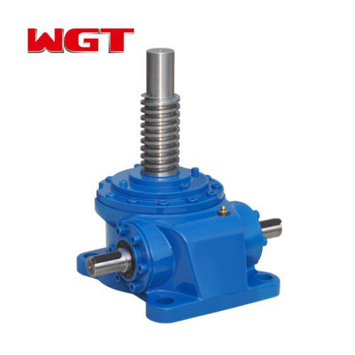 SWL / JWM series support screw jack 25KN worm gear worm manual screw jack, electric screw jack with motor