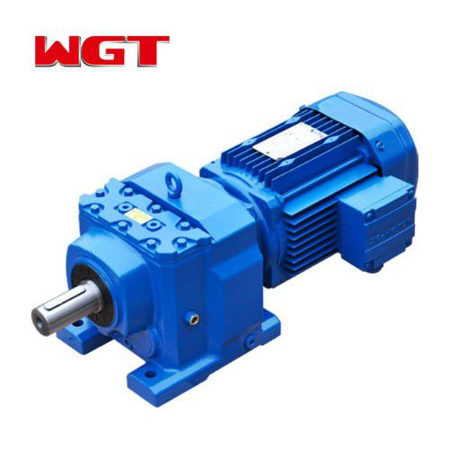 R97 / RF97 / RS97 / RF97 helical gear hardened gear reducer (without motor)
