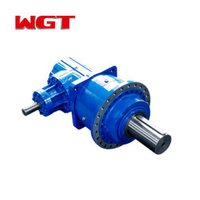 P series pedal type gearbox planetary reducer gearbox motor-P