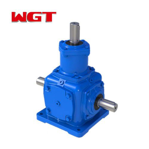 T series spiral bevel gear device 3-way bevel gear small bevel gearbox T2-T25