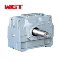 HB series industrial heavy helical gear bevel gear reducer