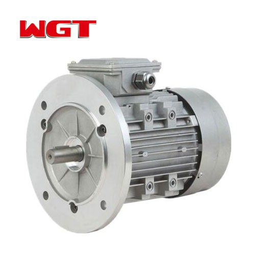 YVP aluminum shell three-phase AC reduction motor 220V AC motor with brake