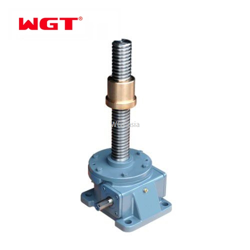 Introduction and installation points of worm gear screw elevator