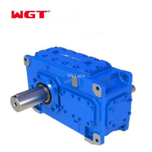 What are the differences of four kinds of helical gear reducers commonly used in phase width reducers